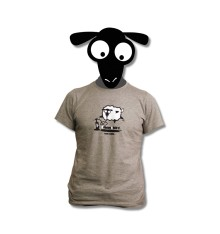 t -shirt goldenboard grey sheep